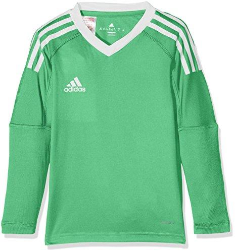 adidas Kinder Revigo 17 Torwarttrikot, Energy Green S17/White, 164