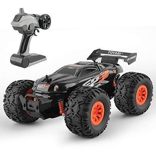 ZAKRLYB 1/18 Monster RC Buggy Car 2.4G Modelo de Control Remoto Camión para vehículos de Escalada 15kM / H Radio Deriva Carreras Fuera de Carretera RTR Juguete Navidad Regalo de cumpleaños para niños