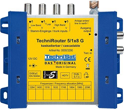 TechniSat 0000/3290 Techni Satellite Router 5/1x8 G