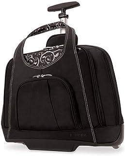 Kensington Contour Balance Notebook Roller Bag in Onyx