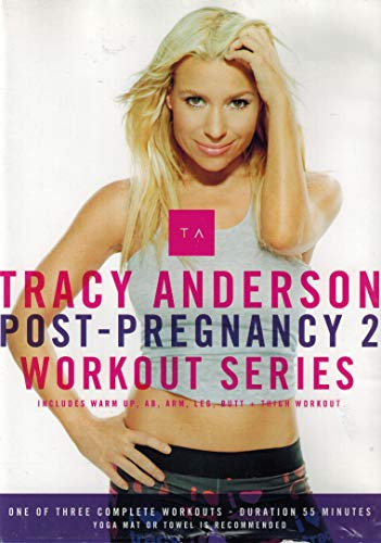 Post-Pregnancy 2: Workout Series (Includes Warm Up, AB, Arm, Leg, Butt + Thigh Workout)
