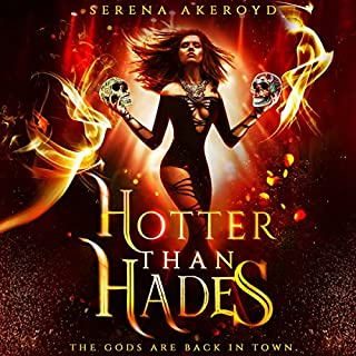 Hotter than Hades audiobook cover art