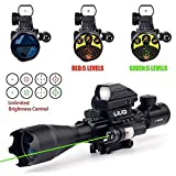 Top 10 Rifle Scope with Red Lasers