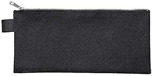 Preisvergleich Produktbild Veloflex 2726000 Banktasche DIN lang,  Transporttasche,  Geldtasche,  robustes Textil,  Metallreißverschluss