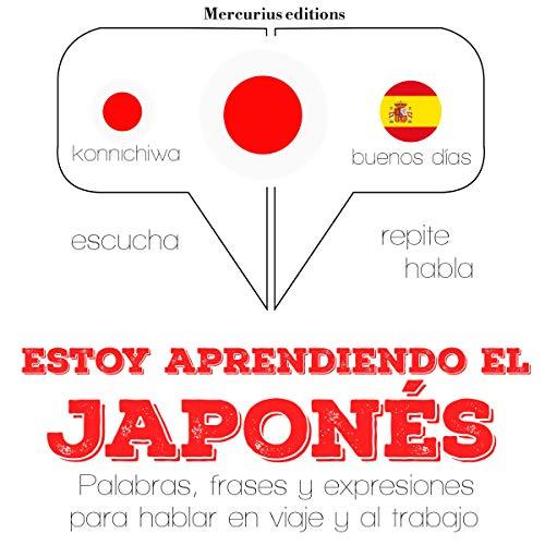 Diseño de la portada del título Estoy aprendiendo el japonés