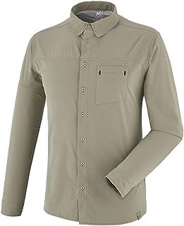 MILLET 觅乐 徒步系列 男士 BIWA STRETCH SHIRT LS长袖衬衫 MIV7699