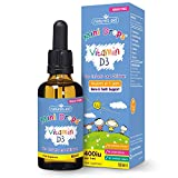 Natures Aid Vitamin D3 Mini Drops for Infants and Children, Sugar Free, 50