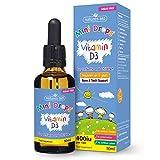 Natures Aid Vitamin D3 Drops, Bone Health, Immune Health, Infants and Children, Sugar Free, 50 ml