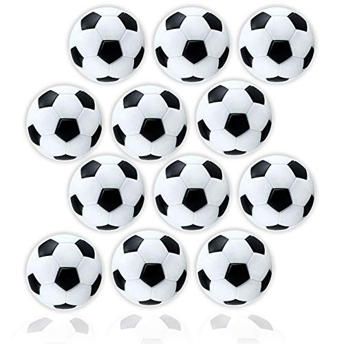 Anapoliz Table Soccer Foosballs | Replacement 12 Pack | Mini...