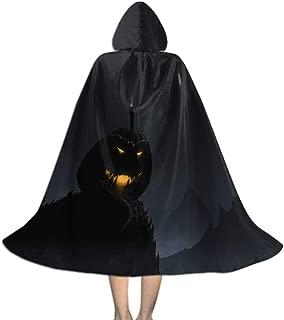 Khdkp Kids Hooded Cloak, Halloween Fancy Cape for Kids Halloween Decoration