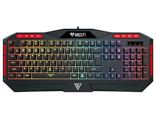 GAMDIAS RGB Mechanical Gaming Keyboard with...