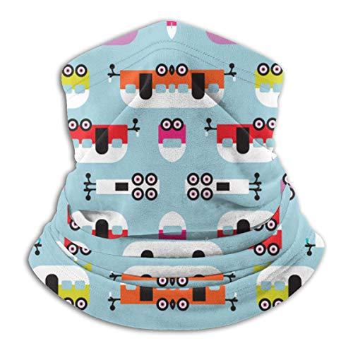 AEMAPE Cute Happy CAM-per Mascarilla Cuello Calentador de Cuello Bufanda Bandana Bufanda Pasamontañas