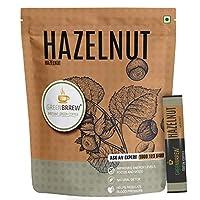 Greenbrrew Instant Green Coffee (Hazelnut, 20 Sachets) - Easy to Use