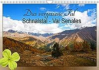 Das vergessene Tal. Schnalstal - Val Senales (Wandkalender 2022 DIN A4 quer): Im Schnalstal in Suedtirol eroeffnet sich dem Besucher ein Tal der Ruhe, Naturschoenheiten und Inspiration. (Monatskalender, 14 Seiten )