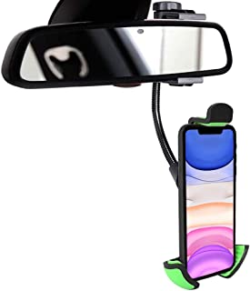 Soporte movil Coche Espejo retrovisor Universal valido para Smartphones hasta 7