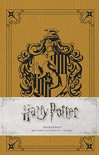 Harry Potter mini carnet Poufsouffle