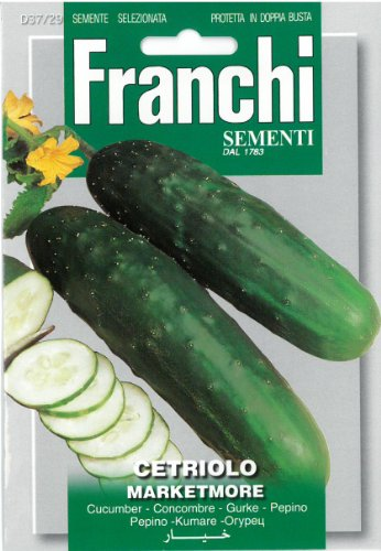 Seeds of Italy Ltd Franchi Concombre Marketmore