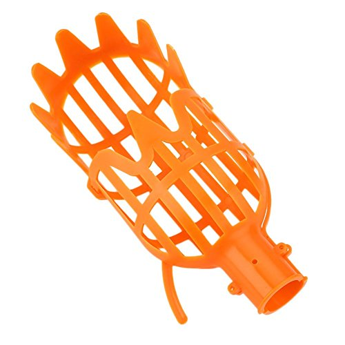 Kicode Plastique Fruit Picker Basket Head Outil d'économie de main-d'œuvre Fruit Catcher for Harvest 7,8 * 3,1 * 3,1 \