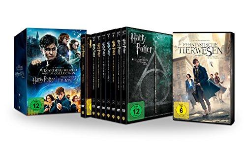 Wizarding World 9-Film Collection: Alle Harry Potter Filme und Phantastische Tierwesen im Schuber (Limited Edition exklusiv bei Amazon.de) [DVD]