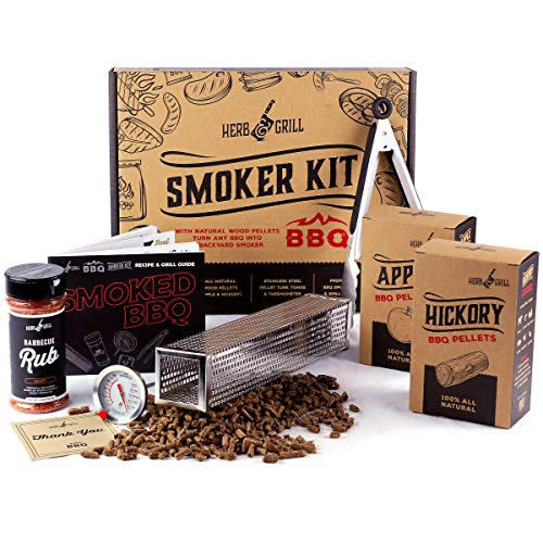 Herb & Grill 7 Piece BBQ Cooking Gift Set