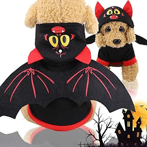 KSITH huisdier hond kleding halloween dag uniformen grappige kat kleding herfst en winter kerst pompoen kostuums transformeren rol spelen, M, C