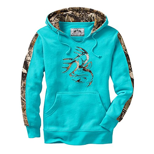 Legendary Whitetails Ladies Outfitter Hoodie Glacier Large