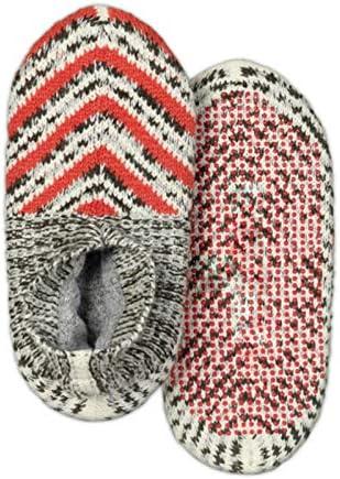 LEFUYAN Antislip Fluffy Slipper Socks for Home Knitting Shoes Socks Soft Winter Warm Home Foot Wear for Floor Office Indoor