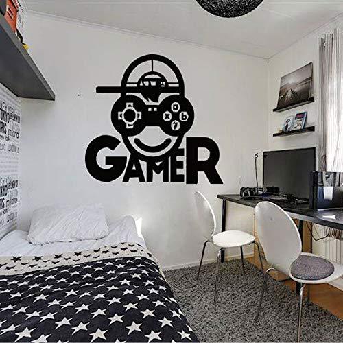 Wandtattoo Gamer Videospiel Wandaufkleber Xbox Loading Controller Wohnkultur Für Jungen Room Art Decals Wandbild für Schlafzimmer57 * 60 cm