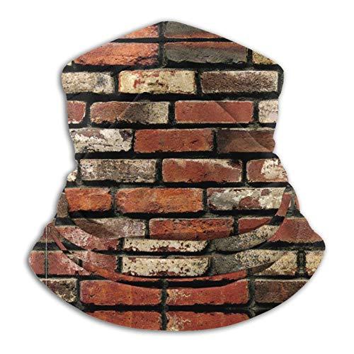longdai Brick Peel And Stick BrickMicrofibra tubo calentador de cuello máscara facial escudo protector bandana diadema y gorro