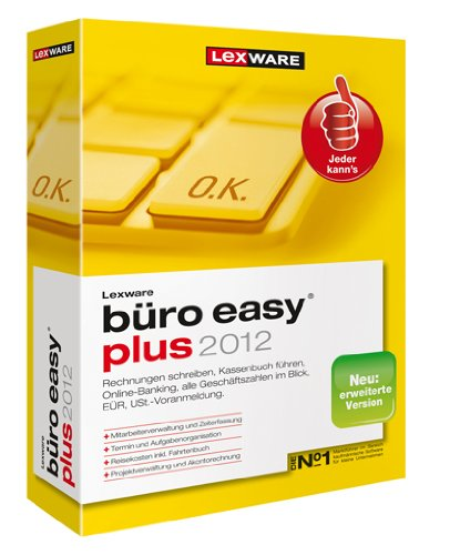 Lexware büro easy plus 2012 (Version 6.00)