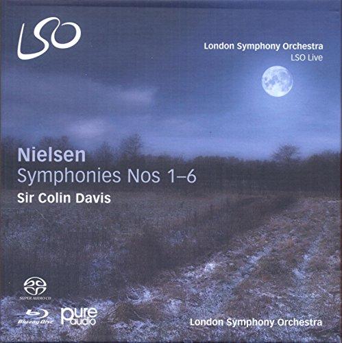 Nielsen: Sinfonien 1-6 (3 SACD + 1 Blu-ray)