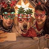 Immagine 2 tazemat 12 pcs occhiali natalizi