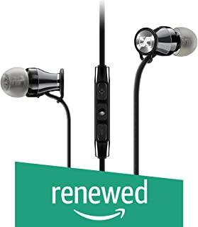 (Renewed) Sennheiser Momentum 506815 in-Ear Headphones for Samsung Galaxy and Android (Black/Chrome)