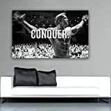 QZROOM Arnold Schwarzenegger Bodybuilding Motivationszitat