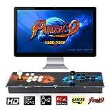 TAPDRA Pandora's Box 9 Joystick y Botones multijugador Arcade Console, Arcade Games Machines, 1500...