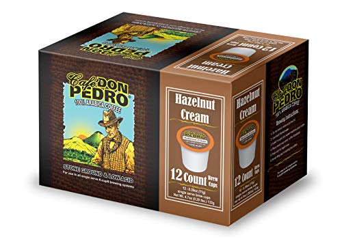 Cafe Don Pedro - 72 ct. Hazelnut Cream Arabica Low Acid Coffee Pods