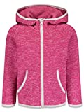 CHEROKEE Toddler Girls Fleece Zip-Up Hoodie with Pockets Pink 2T