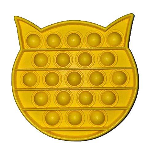 Fidget Spinnerssensory Juguetes de agua dulce Push Bubble Sensory Toy Puzzle escritorio Jumping Bead Release Stress educativos para niños