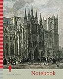 Notebook: London Westminster Abbey 19th Century Church Street
