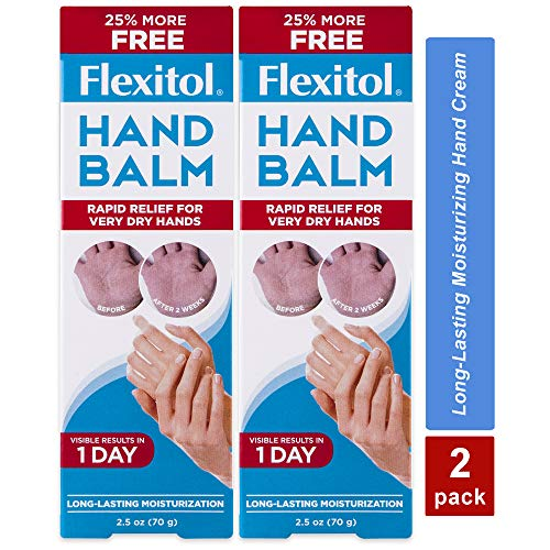 Flexitol Hand Balm Rich Moisturizing Hand Cream for Fast Relief Pack of 2