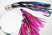 Tuna Bullet Daisy Chain: Holo Flyer Fishing Lure for All Tuna Mahi Wahoo Marlin