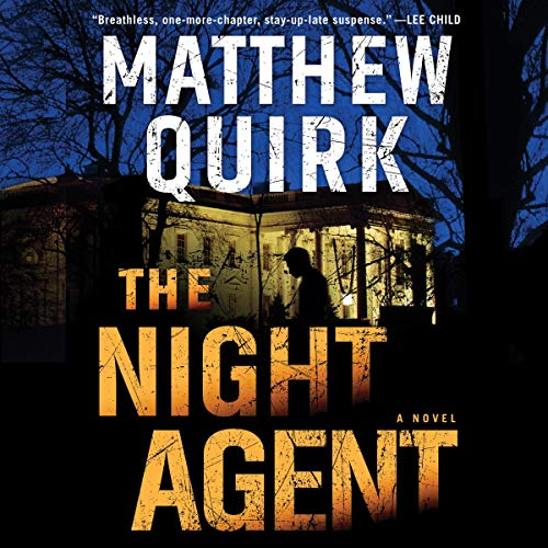 The Night Agent audiobook cover art