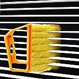 Window Venetian 7 Finger Dusting Cleaner Tool Mini Blind Duster Brush Dust Clean Venetian Blind Brush Window Air...