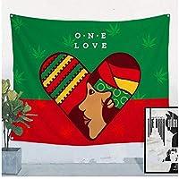 Rzhss ボブマーリーレトロポスタージャマイカレゲエロックミュージックバーカフェ寝室の背景装飾キャンバスに印刷-60X90Cmフレームなし