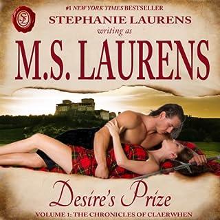 Desire's Prize audiobook cover art