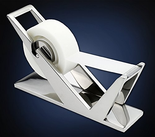 ArtsOnDesk Modern Art Tape Dispenser Mr102 RVS Spiegel Pools Gepatenteerde Luxe High-end Bureau Accessoire Office Organizer Fitting Tape Cutter Kerstmis Corporate Gift