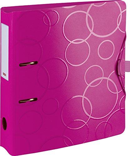 Brunnen 102042726 Colour Code Ordner (aus strapazierfähigem Kunststoff, Polyfoam) rosa