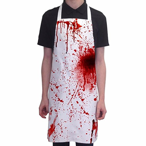 Halloween Aprons - Gory Horror Scary Fun Trick or Treat Party Novelty Cooking Aprons