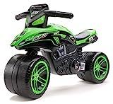 Falk Kawasaki Bud Racing - Juguetes de Montar (Apertura por Empuje, Motocicleta,...