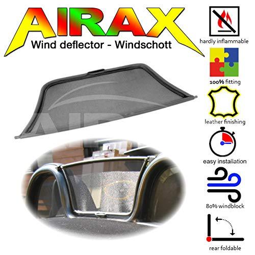 Airax Windschott für Boxster Typ 986 Windabweiser Windscherm Windstop Wind deflector déflecteur de vent